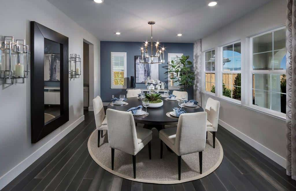 accent dining room wall decor ideas lennarbayarea