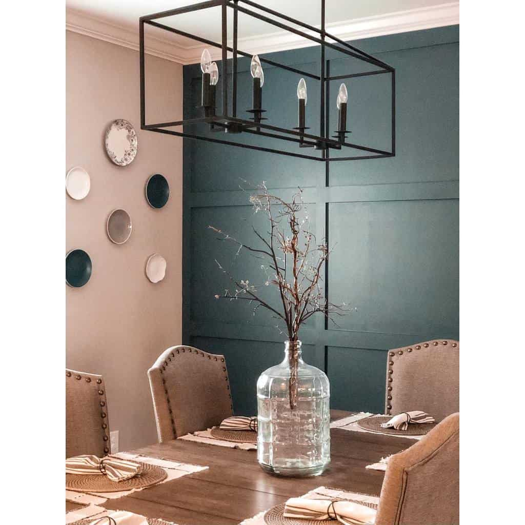 accent dining room wall decor ideas space_of_grace_