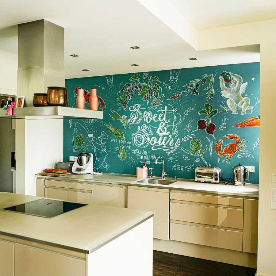 Accent Wall Kitchen Paint Colors Klefischer