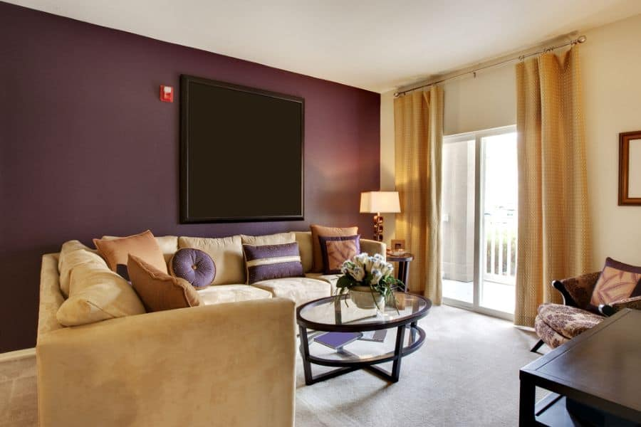 Accent Wall Living Room Paint Ideas 5