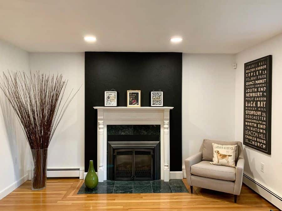 Accent Wall Living Room Paint Ideas Prettyconceptspainting