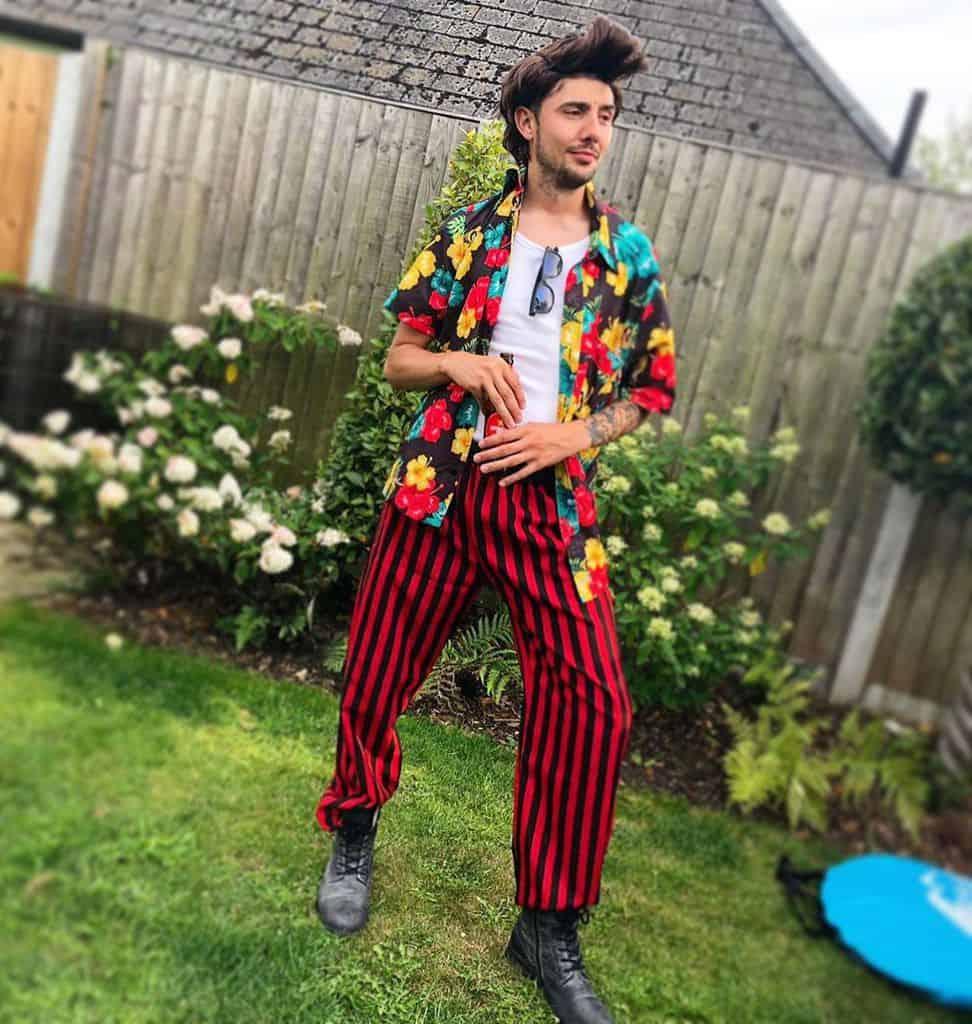 Ace Ventura Pet Detective 90s Party Outfit