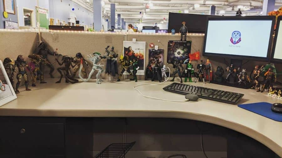 Action Figures And Magnetics Cubicle Decor Cubiclecollector