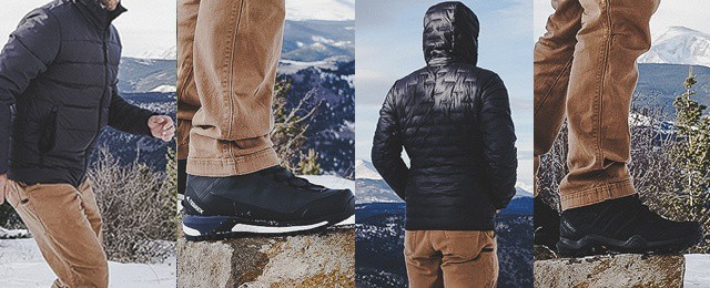 Adidas Winter Mens Climawarm Jacket Downlite Hoodie Rex Swift R2 Shoes Terrex Tracefinder Boots Review