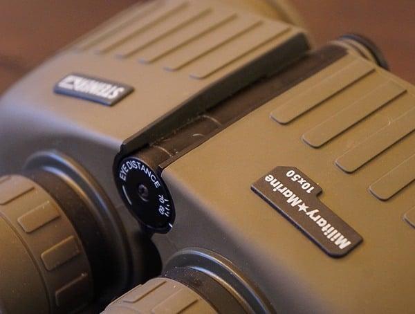 Adjustable Design Steiner Military Marine 10x 50 Binoculars