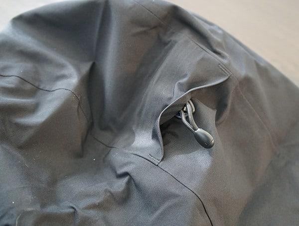 Adjustable Hood Dakine Sawtooth Gore Tex 3l Jacket Back