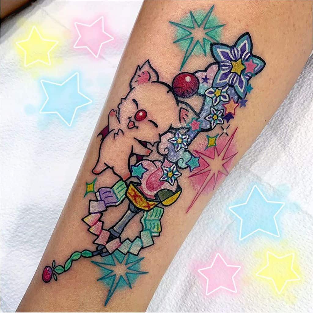 Adorable Kingdom Heart Tattoo