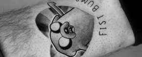 60 Adventure Time Tattoo Designs For Men – Animated Ink Ideas