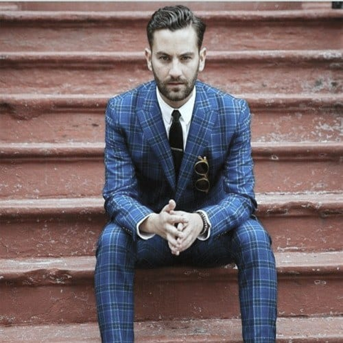 Aesthetic Trendy Outfits Style Ideas For Men Plaid Suit