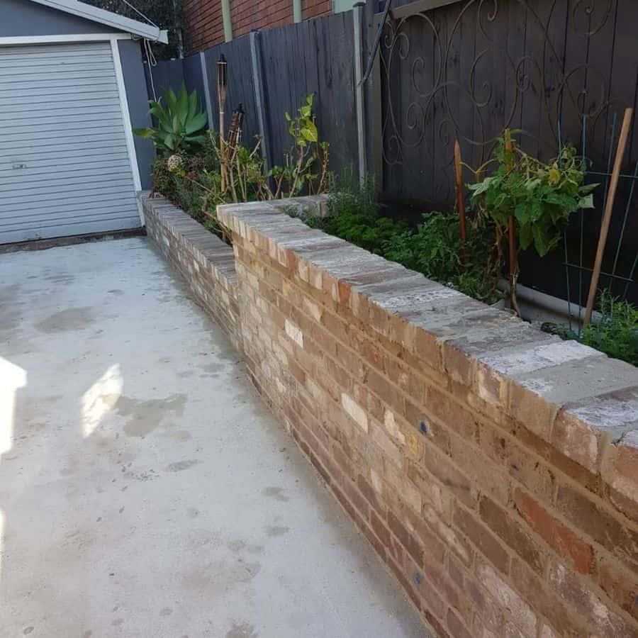 against the wall raised garden bed ideas cloverconstruction.dmk