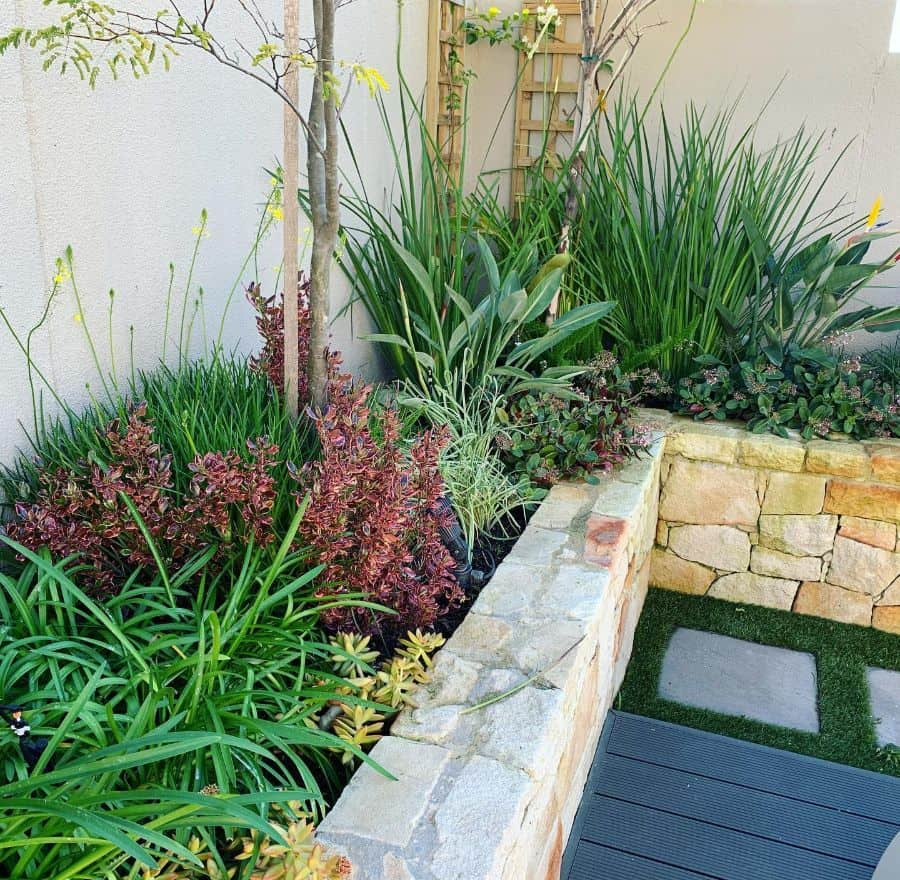 against the wall raised garden bed ideas durbanville.landscaping