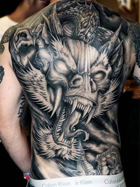 agressive-dragon-male-full-back-shaded-tattoo-designs