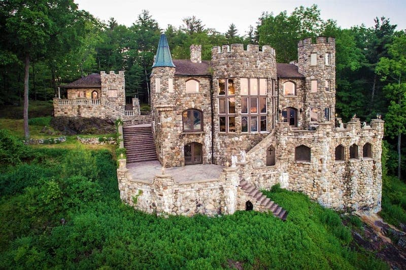 A Kingly Fortress for Rent via Airbnb