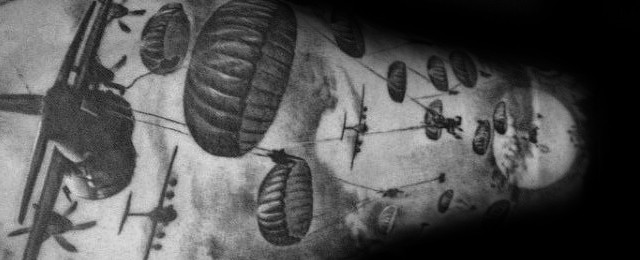 Airborne Tattoos For Men