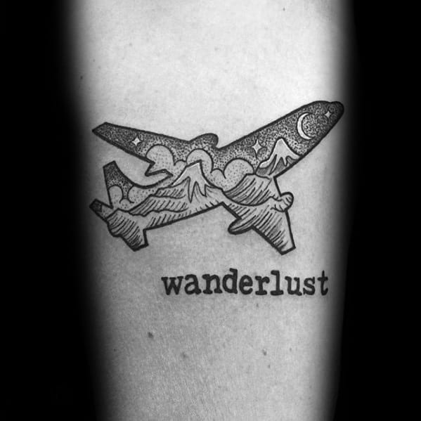 Wanderlust Tattoo Designs