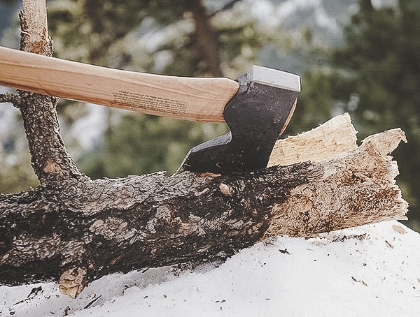 Akka Foresters Axe Hults Bruk Review Log Splitting