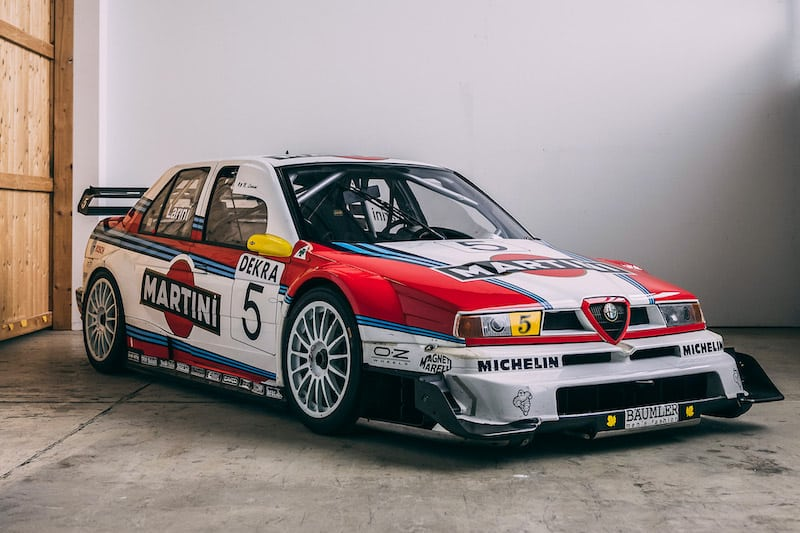 1996 Alfa Romeo 155 Touring Car Up for Auction