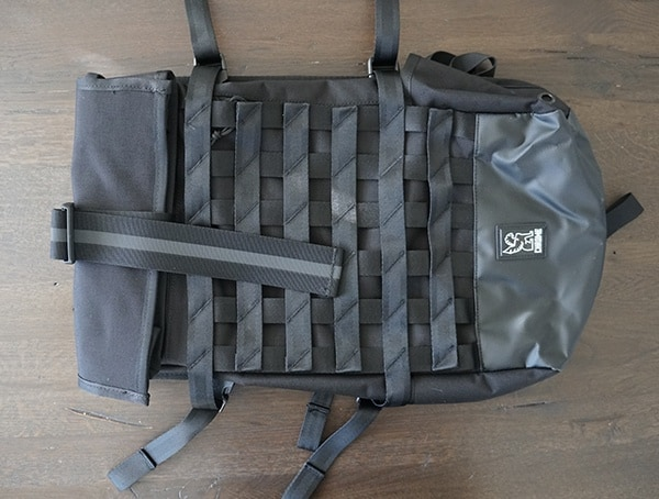 All Back Chrome Industries Barrage Cargo Backpack Front