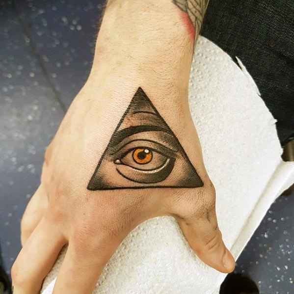 Tattoo Designs For Men Hand: 70 Simple Hand Tattoos For Men