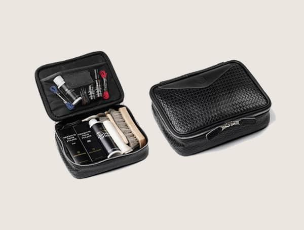Allen Edmonds Woven Leather Shoe Shine Kit For Men