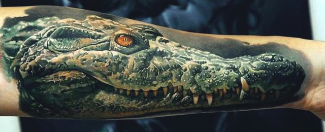 60 Alligator Tattoo Designs For Men Cool Crocodiles