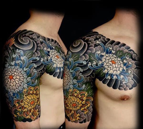 Alluring Japanese Sleeve Tattoo For Guys