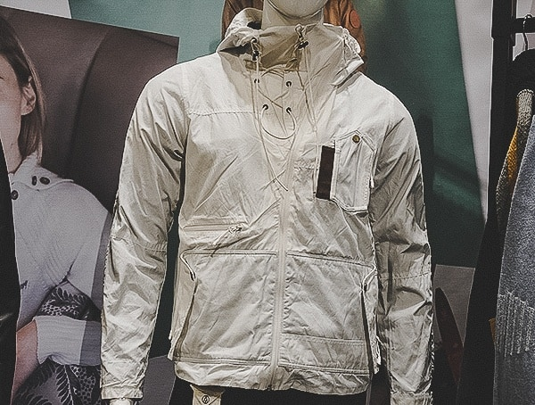 Alps And Meters Mens White Winter Jacket