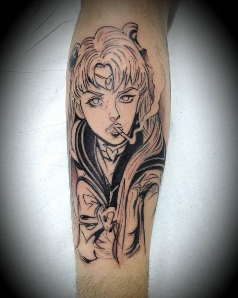 Alternative Sailor Moon Tattoo