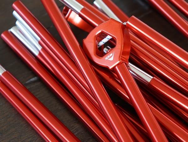 Aluminum Poles Msr Hubba Tour 3 Tent