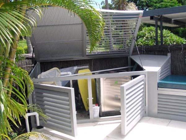 Aluminum Pool Equipment Enclosure Ideas