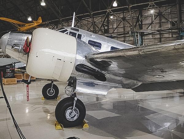 Aluminum Vintage Rivet Aircraft