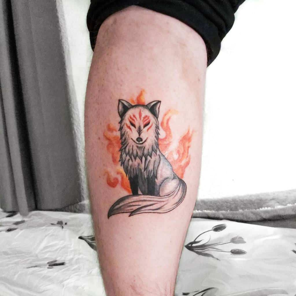 Amaterasu Okami Tattoos Bagheera.ink