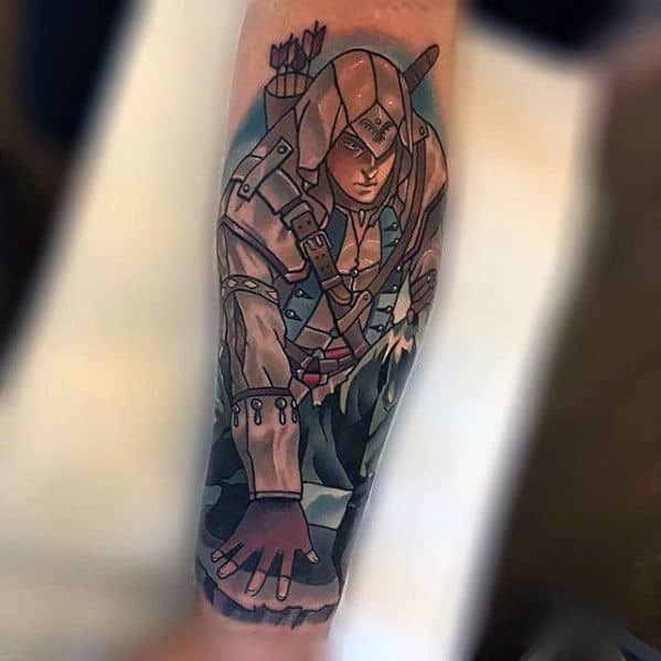 60 Assassins Creed Tattoo Designs For Men - Video Game Ink ...