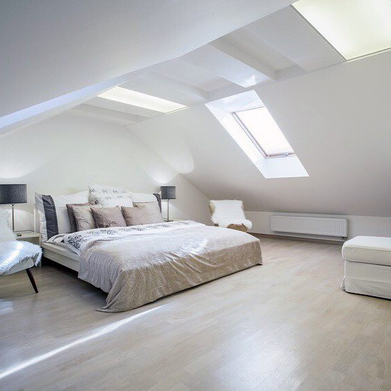 Amazing Attic Bedroom Designs