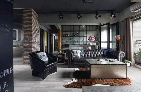 Men Living Room Ideas