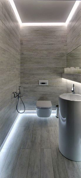 Amazing Cool Bathrooms Led Lighting Ideas