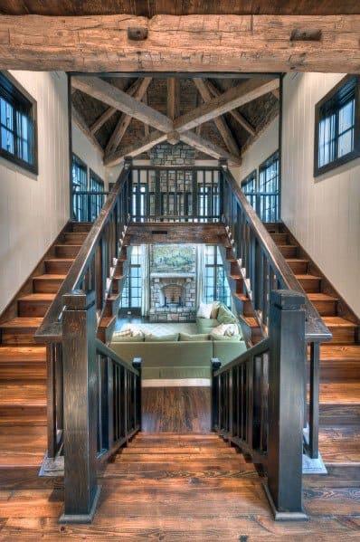 Amazing Design Ideas Wood Stairs