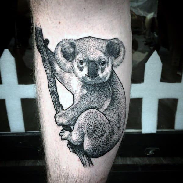 30 koala tattoo designs for men wild animal ink ideas rh nextluxury com koala bear tattoo ideas koala bear tattoo tumblr