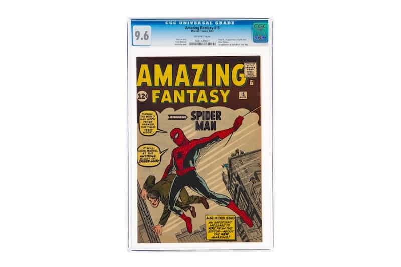 The World's Most Expensive Comic Book Just Sold for $3.6 Million