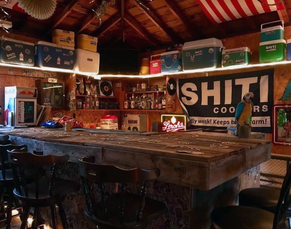 Top 50 Best Garage Bar Ideas - Cool Cantina Workshop Designs
