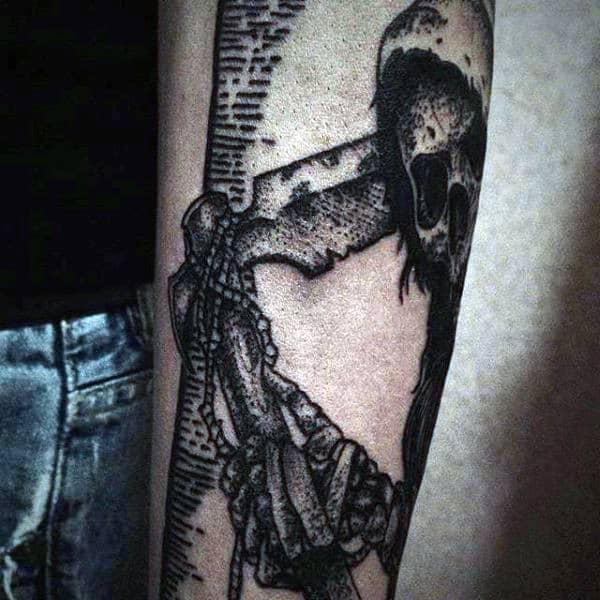 Amazing Grim Reaper Tattoo Designs For Men