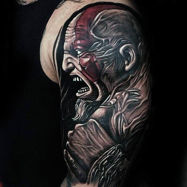 30 Kratos Tattoo Designs For Men