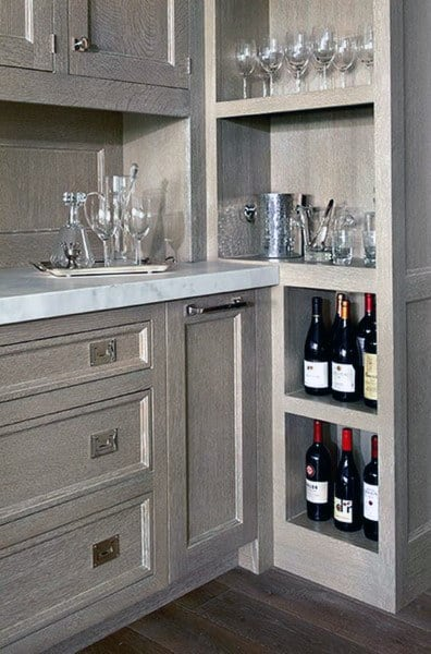 Top 70 Best Home Mini Bar Ideas - Cool Beverage Storage Spots