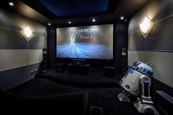amazing home theater design inspiration masculine decor. Interior Design Ideas. Home Design Ideas