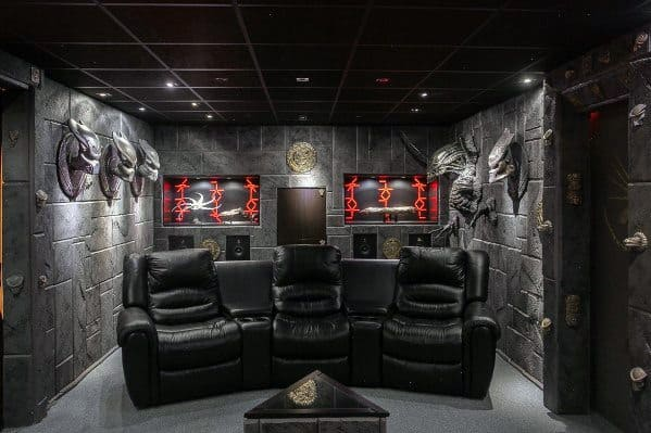 Amazing Home Theatre Gaming Man Cave