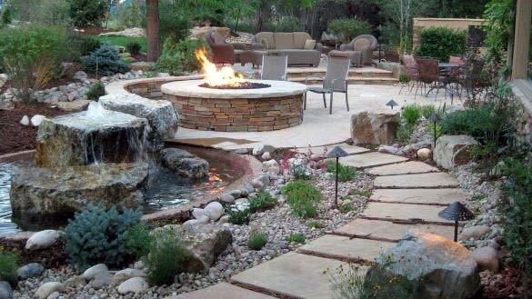 Amazing Ideas For Home Patio Firepit