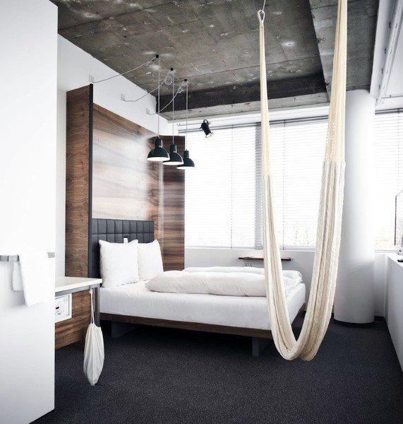 Amazing Indoor Hammock Design Ideas For Modern Bedroom
