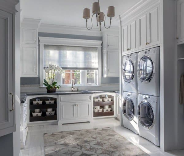 Top 50 Modern House Designs Ever Built: Top 50 Best Laundry Room Ideas