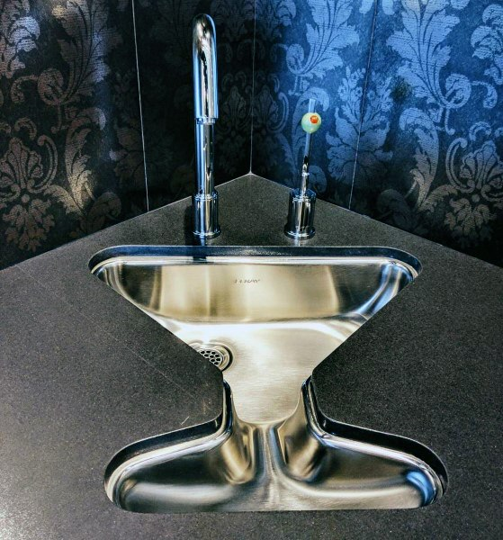Amazing Martini Shaped Wet Bar Sink Ideas