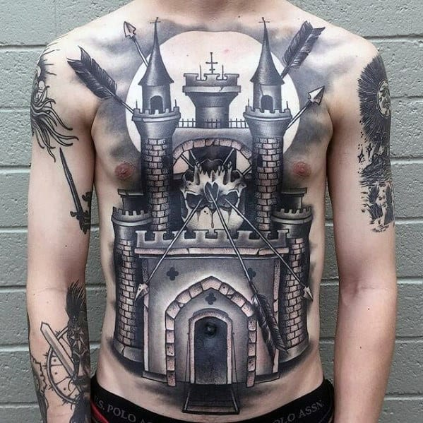 Top 71 Cool Chest Tattoo Ideas 2020 Inspiration Guide